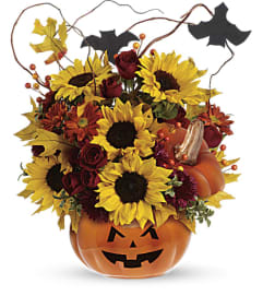 Teleflora's Trick & Treat Bouquet