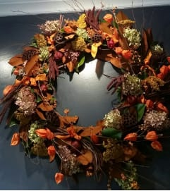 Autumn glory wreath