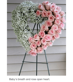 Rose Open Heart