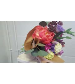 Custom Hand Tie Bouquet