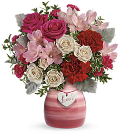 Teleflora's Painted In Love Arrangement