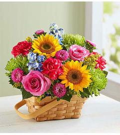 Sunny Garden Basket