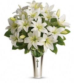 Teleflora's Sacred Cross Bouquet