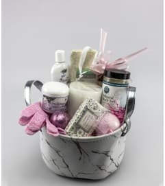Just Roses Spa Basket