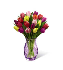 The FTD® Spring Tulip Bouquet 2017