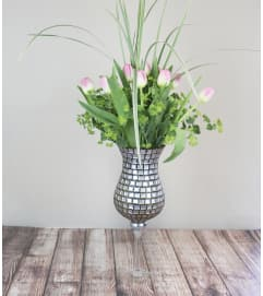 Single Mosaic Tulip Arrangement