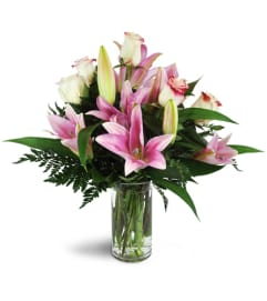 Alluring Roses and Lilies™