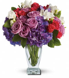 Teleflora's Rhapsody in Purple