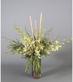 Country Arts Modern Orchid Vase