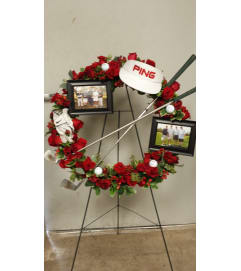GOLFER'S DREAM WREATH