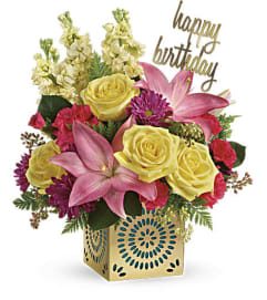 Teleflora's Blooming Birthday Bouquet
