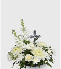 Crystal Cross Arrangement