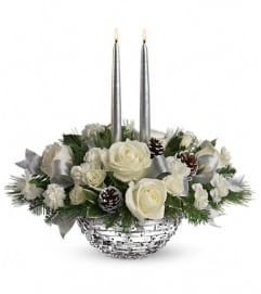 Teleflora's Splendid New Year Centerpiece