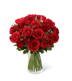 The FTD® Red Romance™ Rose Bouquet