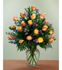 Deluxe 18 Stem Rose Vase