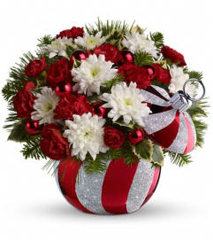 Celebrations by Radko Ornament by Teleflora