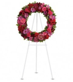 Infinite Love Wreath Tribute