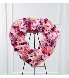 The FTD® Eternal Rest™ Standing Heart