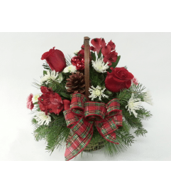 Evergreen Basket