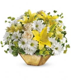 Garden Reflections Centerpiece by Teleflora