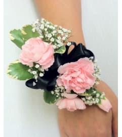 Carnation Wristlet