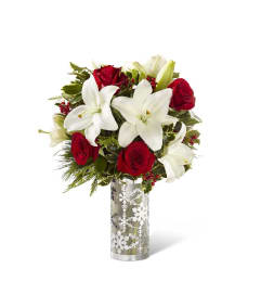 The FTD® Holiday Elegance™ Bouquet 2016