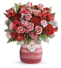 Teleflora's Playfully Pink Arrangement