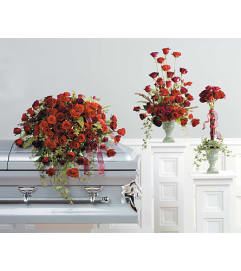Eternal Love Casket Spray