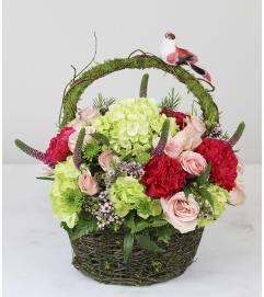 Custom designed flowers gifts staten island ny florist whimsical basket mightylinksfo