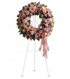Graceful Wreath Tribute