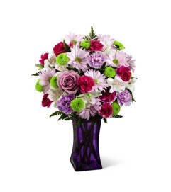 The FTD® Purple Pop Bouquet