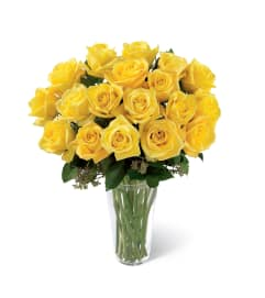 The FTD® Yellow Rose Sympathy Bouquet