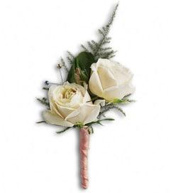 White Tie Boutonniere