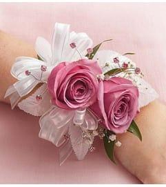 Purple Rose Corsage