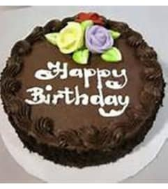 Edible Chocolate Birthday Cake for him
