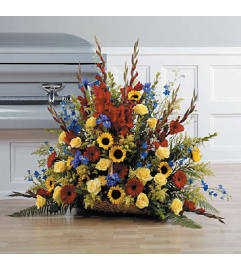Bright & Beautiful Tribute Bouquet