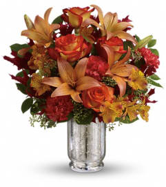 Teleflora's Fall Blush Bouquet