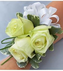 Beach Wedding Corsage - Rose
