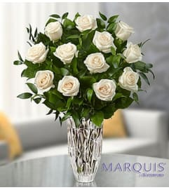 Marquis by Waterford® White Roses