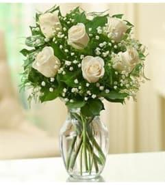 Rose Elegance™ Premium White Roses - 1/2 Doze