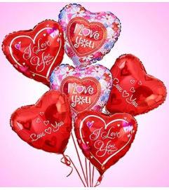 Air-Rangement® - Love & Romance Mylar Balloon