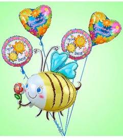Bumble Bee Mylar Bundle