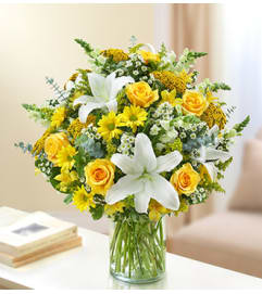 Ultimate Elegance™ - Yellow and White