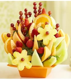 Our Thoughts Are With You Sympathy Fruit Tray