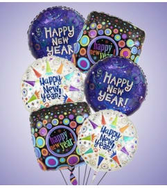 Air-Rangement® - Happy New Year Mylar Balloon