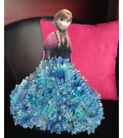 Disney's Anna - Floral Character