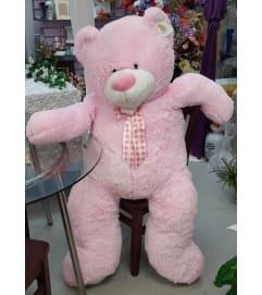 Jumbo Pink Teddy Bear