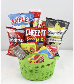 Junk Food Junkie Basket