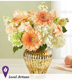 Peach Splendor Bouquet