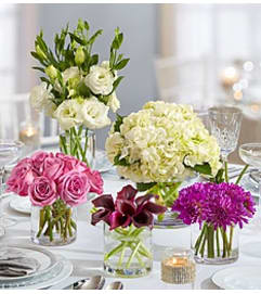 Centerpiece Package Purple